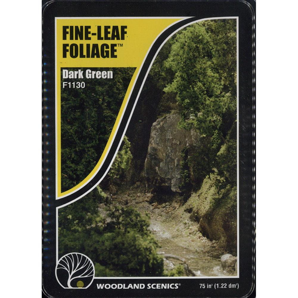 樹木素材セット 濃緑色の木 :ウッドランド 素材 ノンスケール F1130
