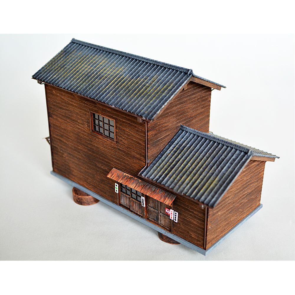 機関区事務所 :匠ジオラマ工芸舎 塗装済完成品 HO(1/80) 1024