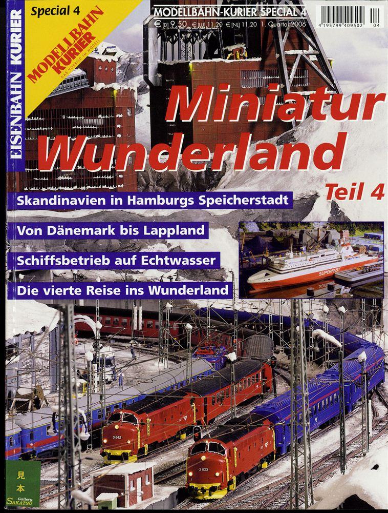 ミニチュアワンダーランド vol.4 モデルバーン・クーリエ特別版 :KE出版 (本) ドイツ語