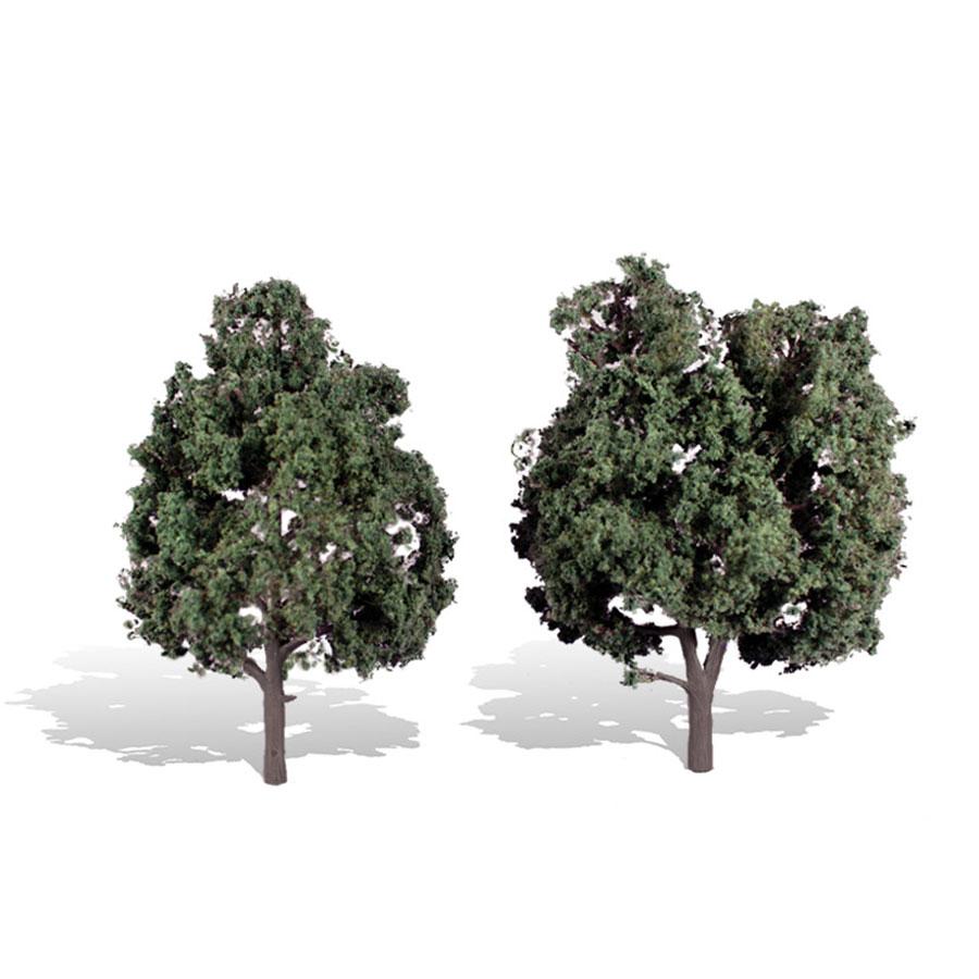 広葉樹 12.7〜15.2cm 2本 :ウッドランド 完成品 ノンスケール 3514