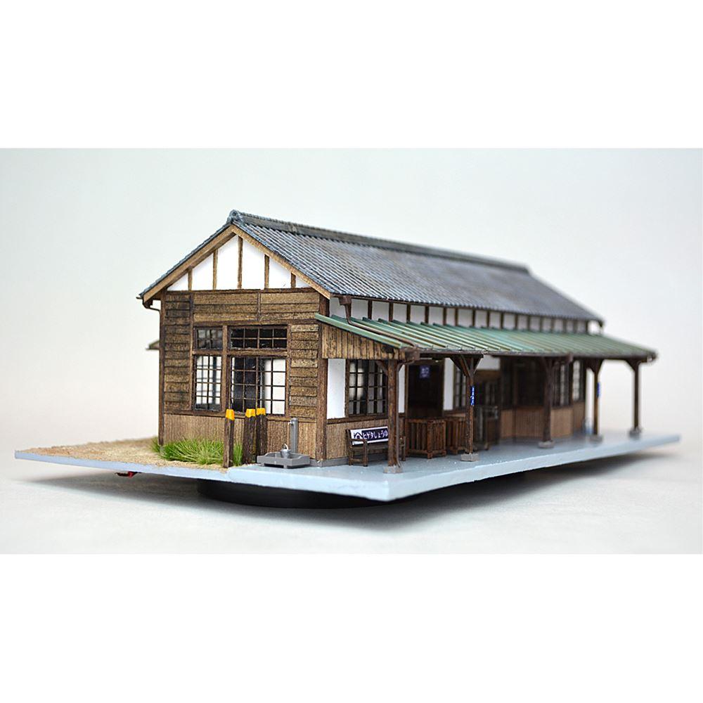中型木造駅舎 豊福駅 :匠ジオラマ工芸舎 塗装済完成品 HO(1/80) 1025