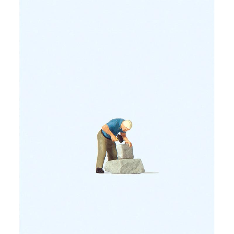 石工職人 :プライザー 塗装済完成品 HO(1/87) 28239