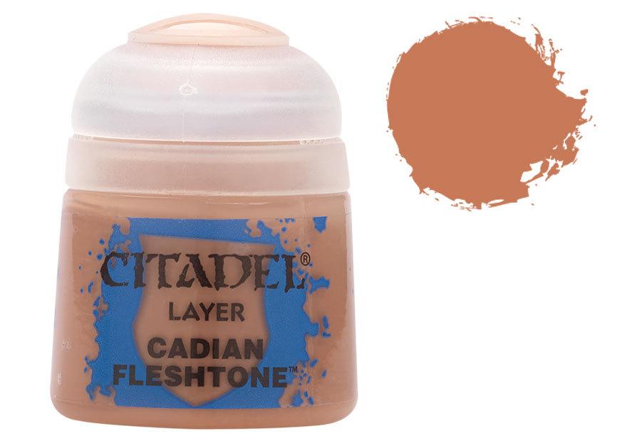 シタデル・レイヤー Cadian Fleshtone(ケイディアン・フレッシュトーン) :ゲームズワークショップ つや消し塗料 22-36