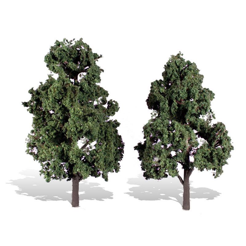 落葉樹 15.2〜17.7cm 2本 :ウッドランド 完成品 ノンスケール 3517