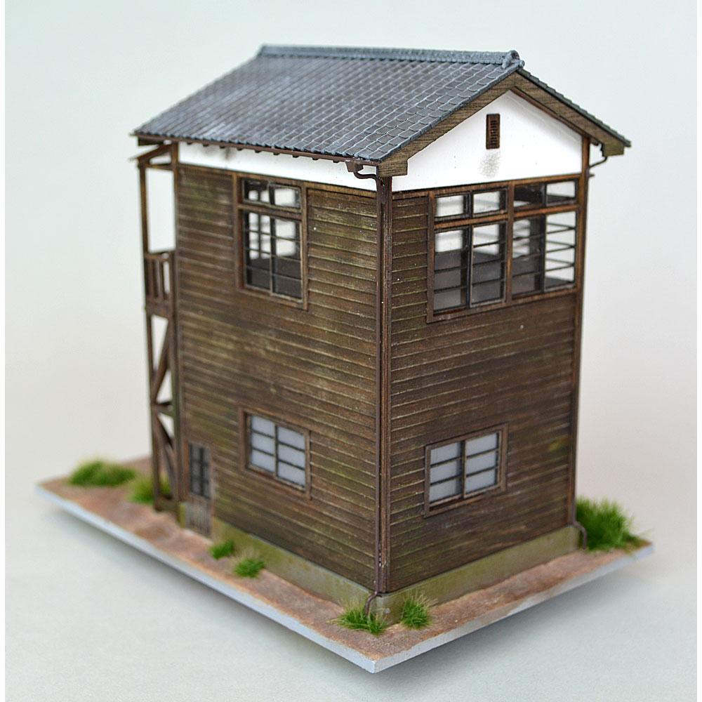 信号所 :匠ジオラマ工芸舎 塗装済完成品 HO(1/80) 1026