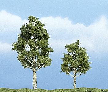 プレミアム・ツリー 白樺(アスペン) 6〜8cm :ウッドランド 塗装済完成品 ノンスケール 1612