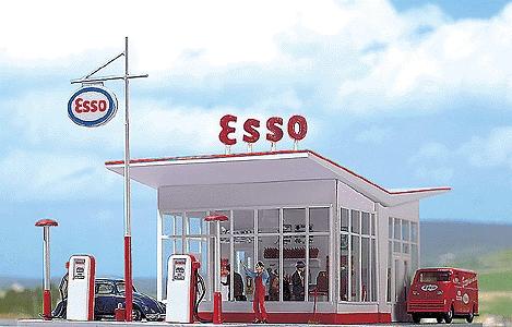1950年代のエッソ ガソリンスタンド :ブッシュ キット HO(1/87) 1005