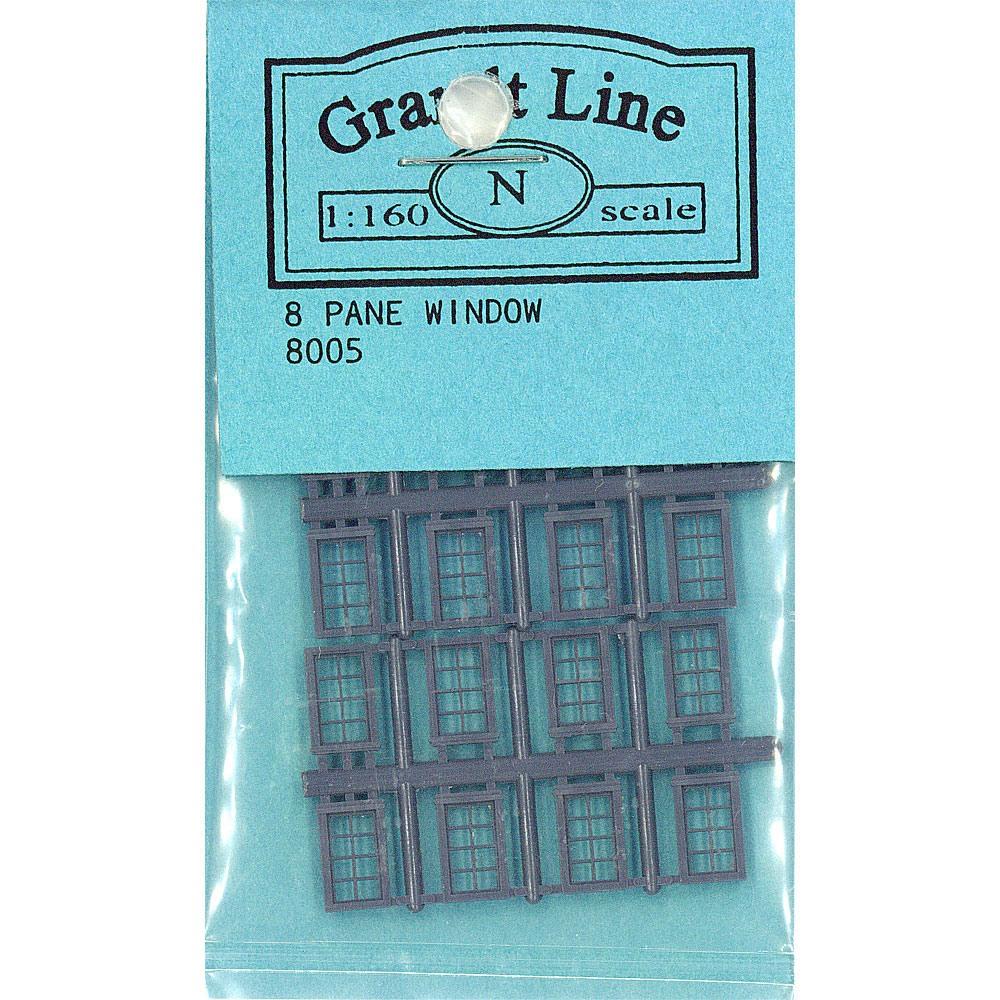 洋風窓 窓枠  :グラントライン 未塗装キット(部品) N(1/160) 8005