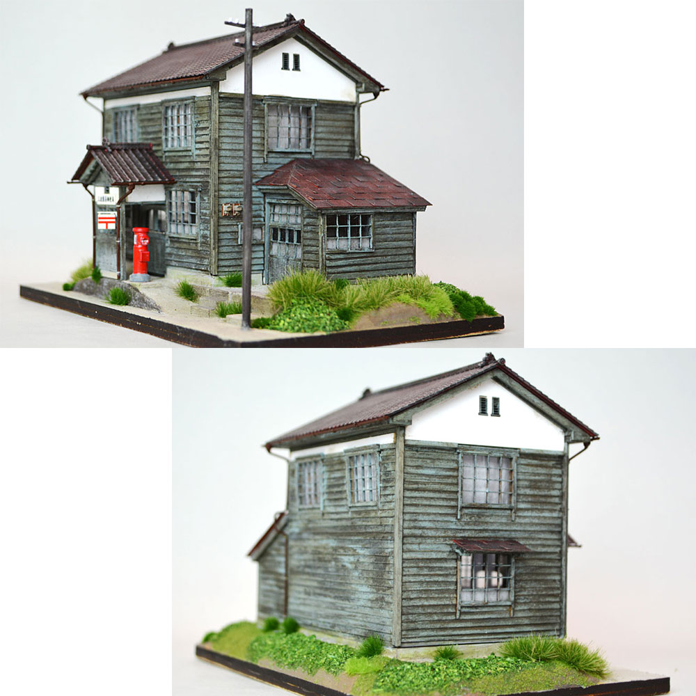 三波簡易郵便局 :匠ジオラマ工芸舎 塗装済完成品 HO(1/80) 1027