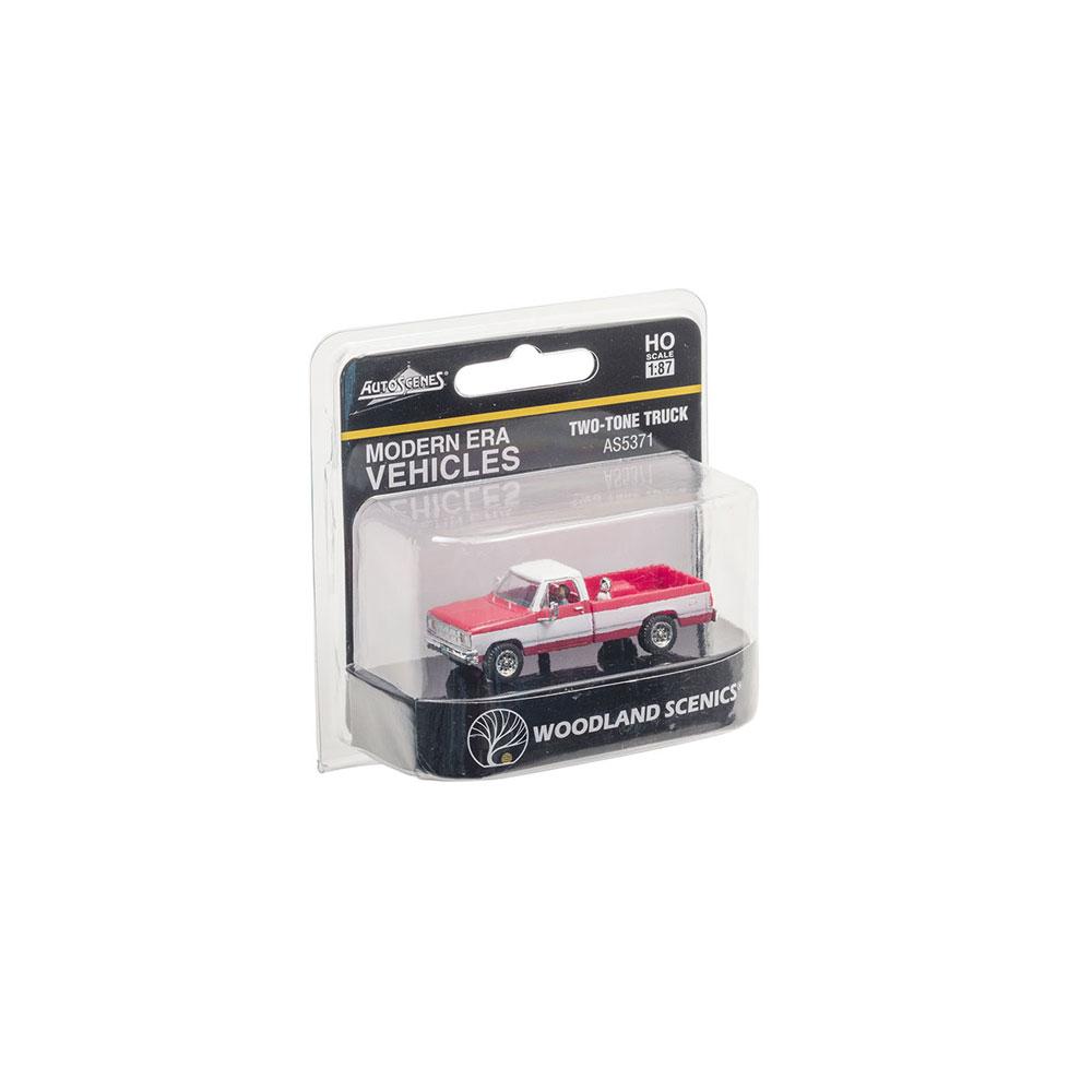 【模型】 トラック(ツートン) :ウッドランド 塗装済完成品 HO(1/87) AS5371