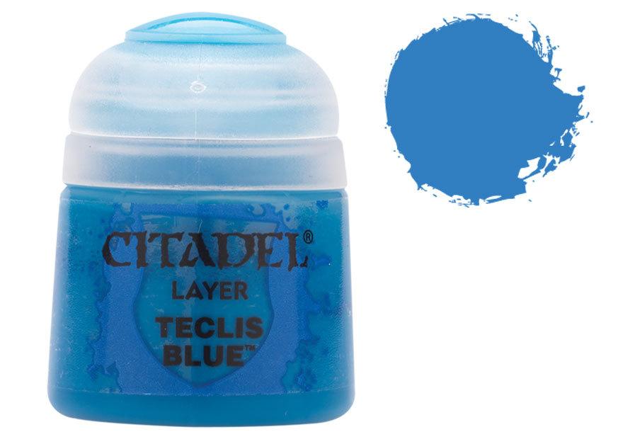 シタデル・レイヤー Teclis Blue(テクリス・ブルー) :ゲームズワークショップ つや消し塗料 22-17