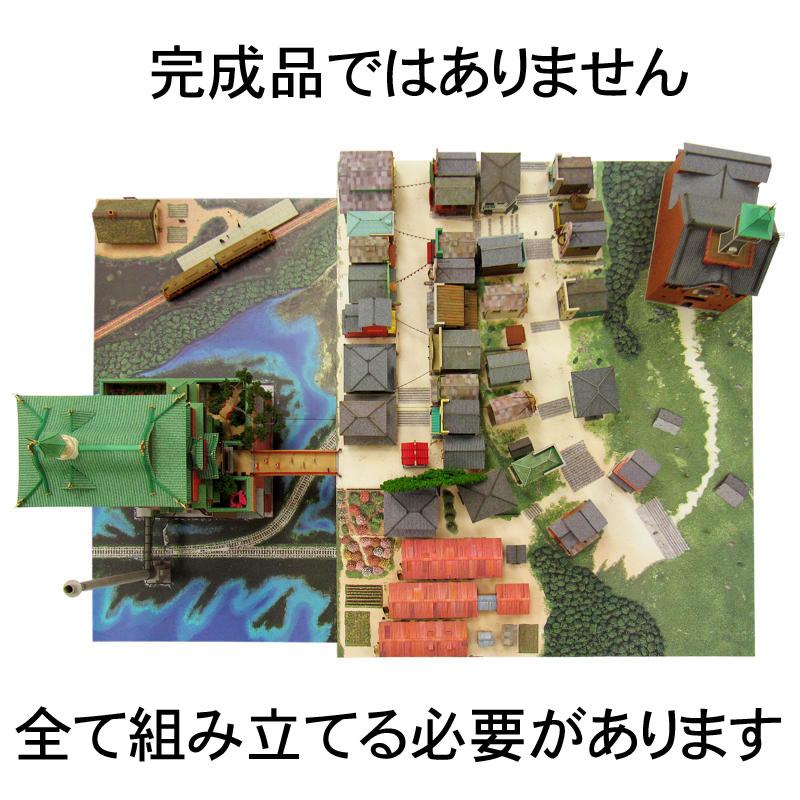 不思議の町ジオラマ【フルセット版】 :さんけい キット N(1/150) MK07-32S