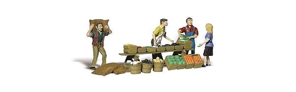 農家の産地直売 :ウッドランド 塗装済完成品 O(1/48) 2750