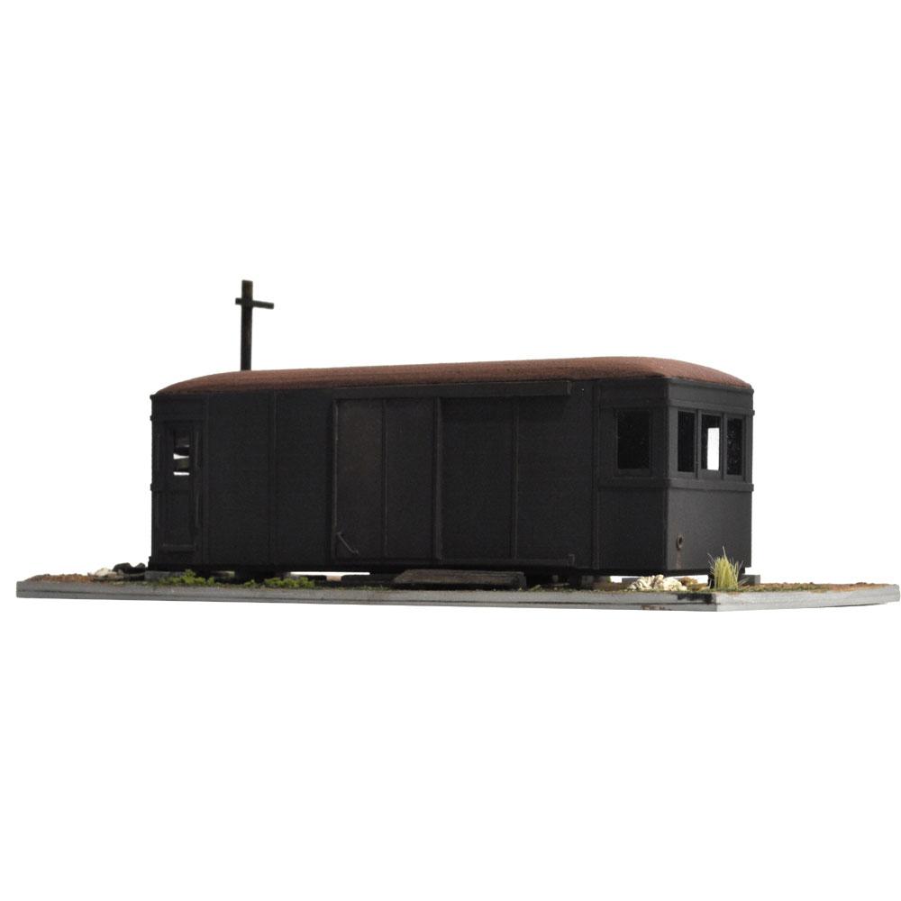 自由形貨電ダルマのある情景1 :松井工機 塗装済完成品 HO(1/80)