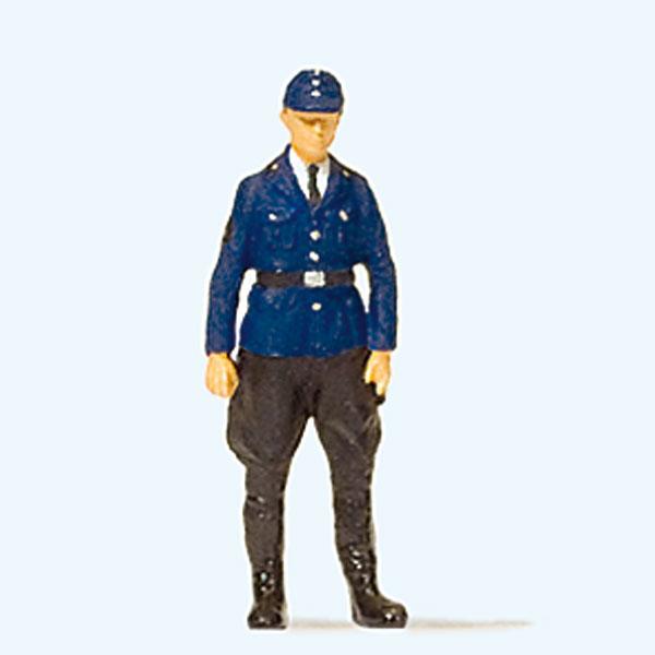 1960年ごろの鉄道警察官 :プライザー 塗装済完成品 HO(1/87) 28115