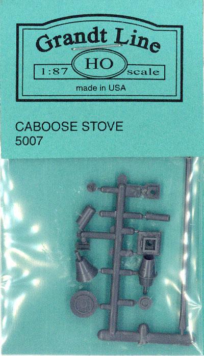 カブース ストーブ(鉄道車輌用ストーブ) :グラントライン 未塗装キット(部品) HO(1/87) 5007