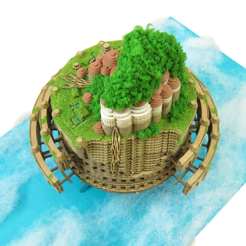 ラピュタ城 :さんけい キット N(1/150) MK07-33
