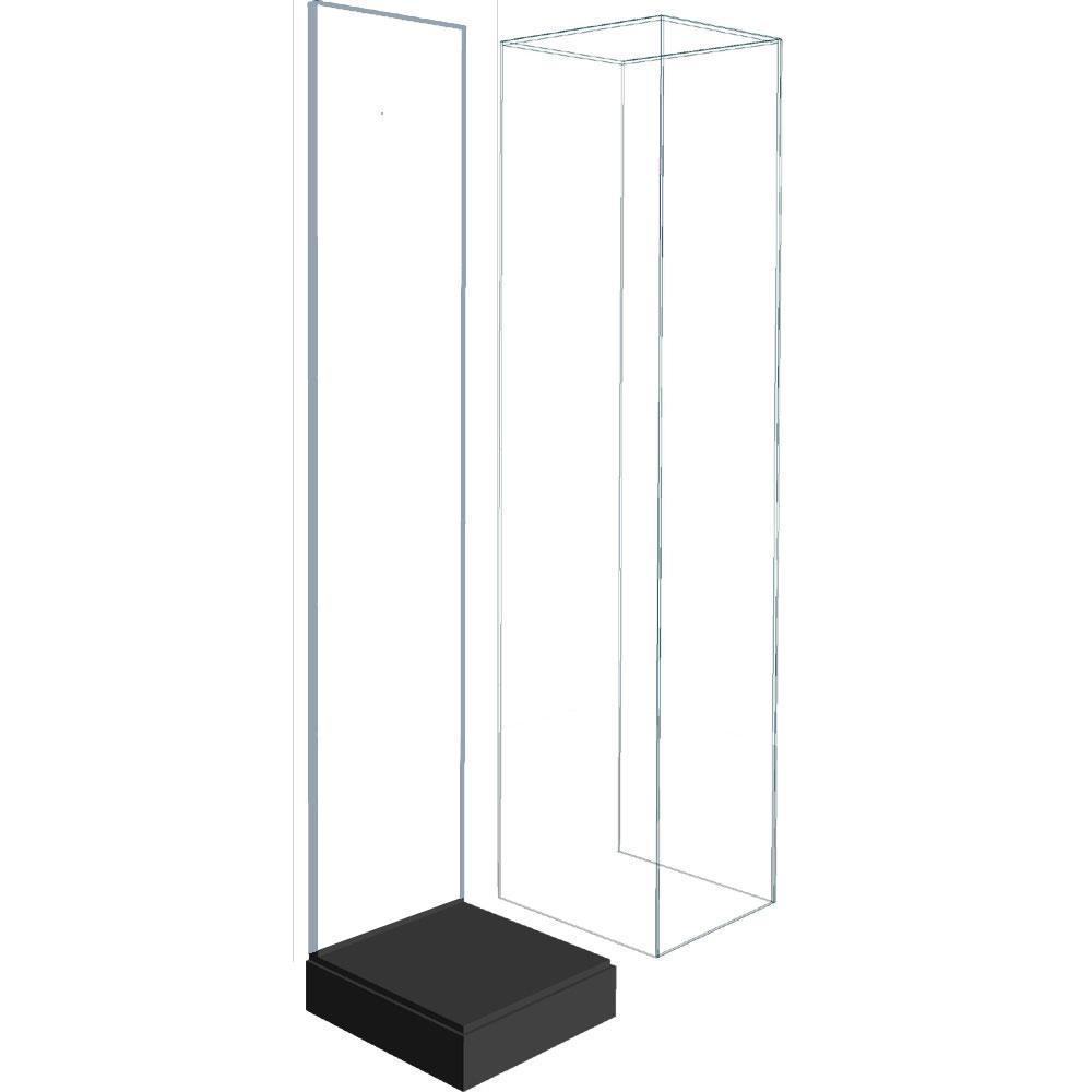 タワー用 アクリル展示ケース(背板透明) :さかつう ケース ノンスケール 8805