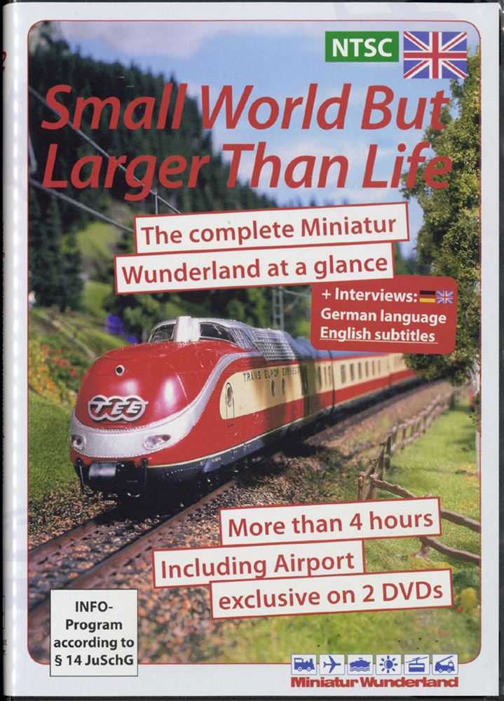 DVD2枚組 「小さな世界、果てしなく広く」 Small World But Larger Than Life :ミニチュアワンダーランド (DVD) 英語