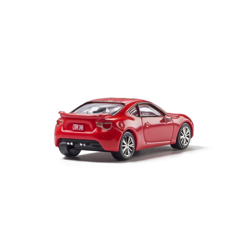 【模型】 スポーツカー(レッド) :ウッドランド 塗装済完成品 HO(1/87) AS5369