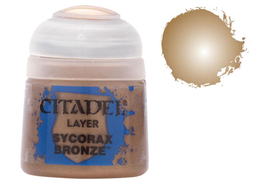 シタデル・レイヤー Sycorax Bronze(サイコラックス・ブロンズ) :ゲームズワークショップ つや消し塗料 22-64
