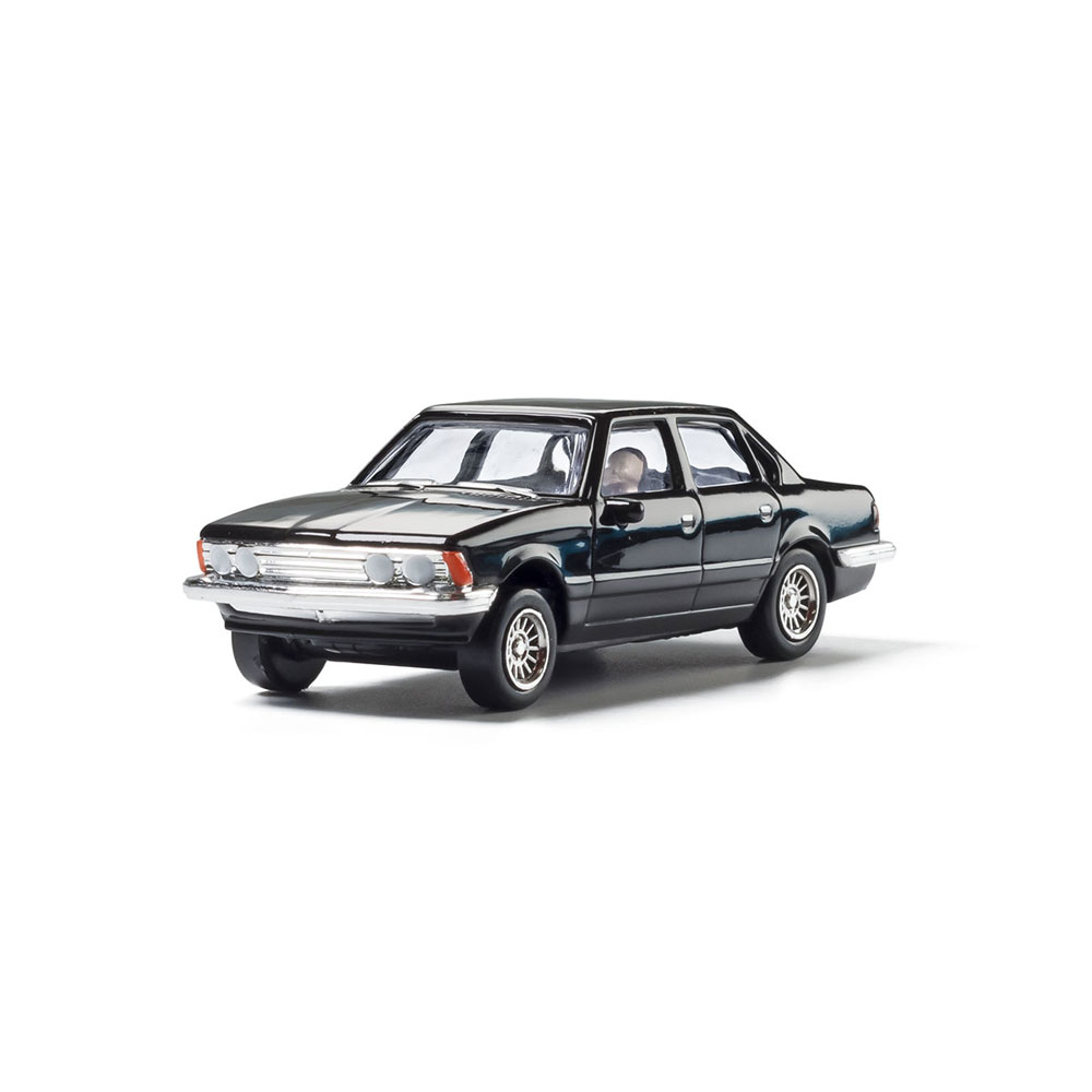 【模型】 セダン(ブラック) :ウッドランド 塗装済完成品 HO(1/87) AS5367