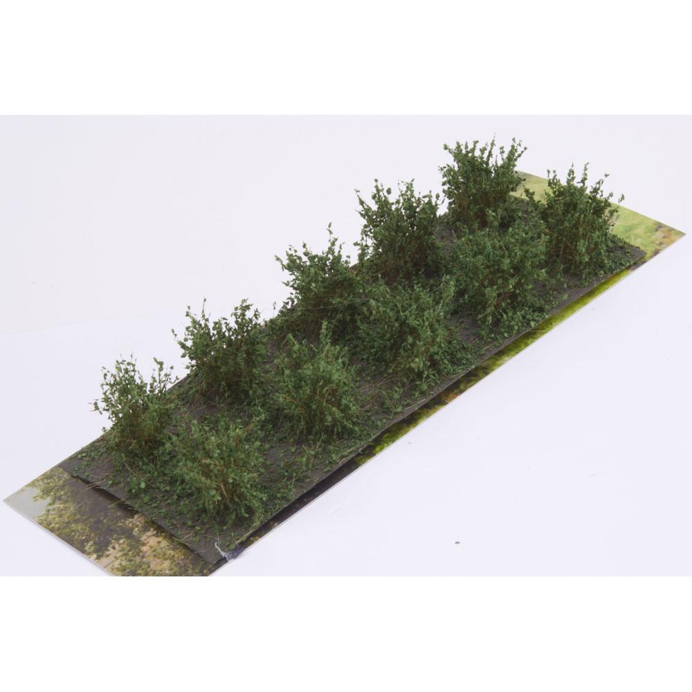 茂みA 株タイプ 全高20mm ダークグリーン 10株 :マーティンウェルバーグ ノンスケール WB-SADG