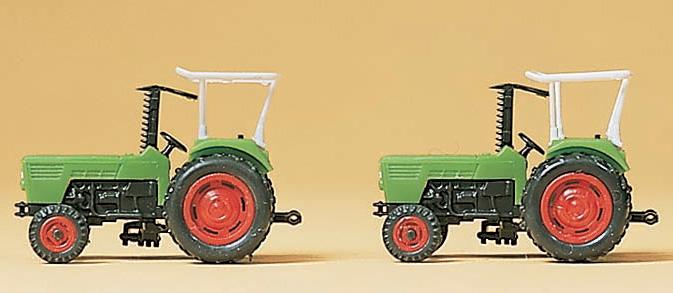 トラクター 2台 :プライザー 塗装済完成品 N(1/160) 79506