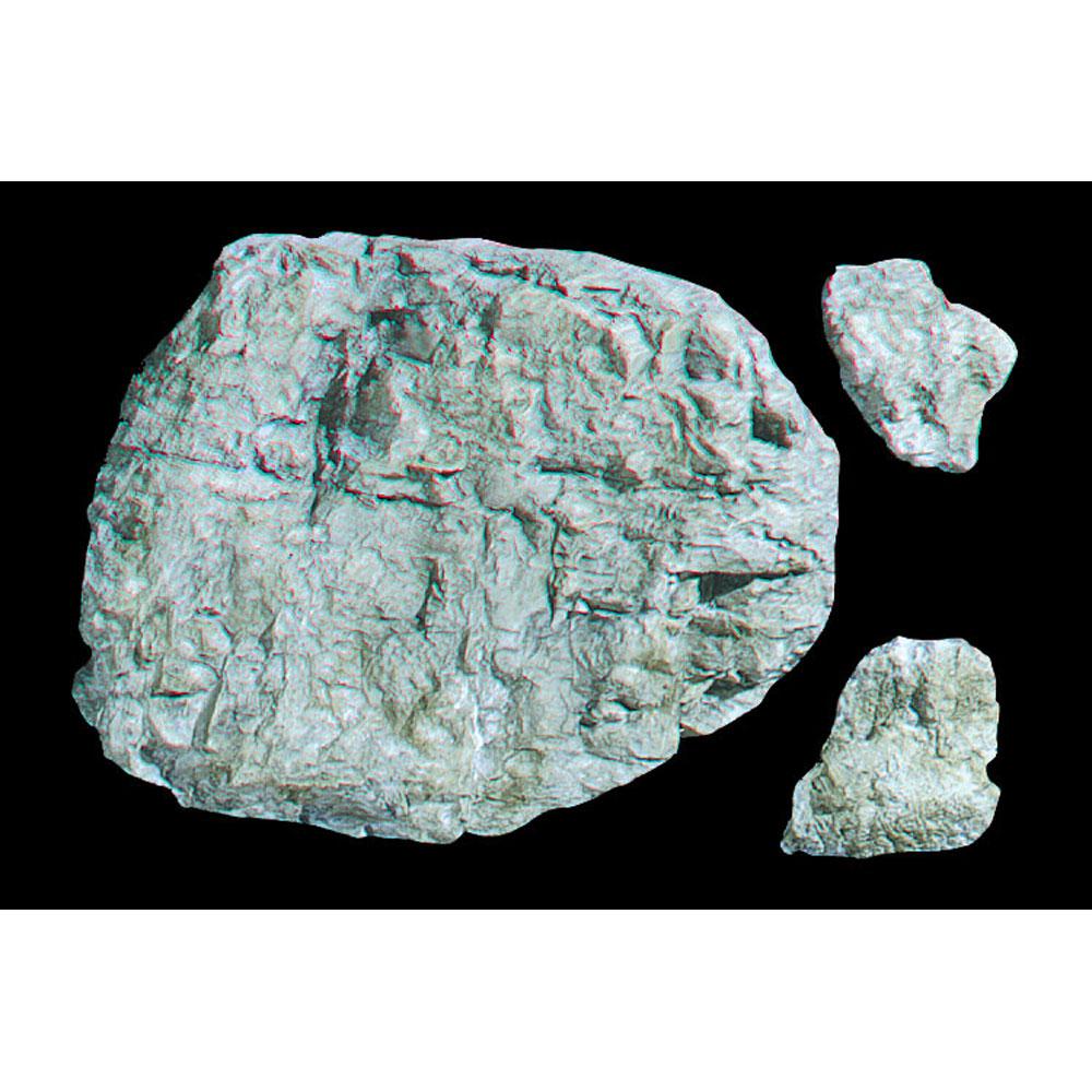 ロックモールド(岩の型) 露出部 :ウッドランド 素材 ノンスケール C1235