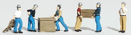 労働者 :ウッドランド 塗装済完成品 HO(1/87) 1823