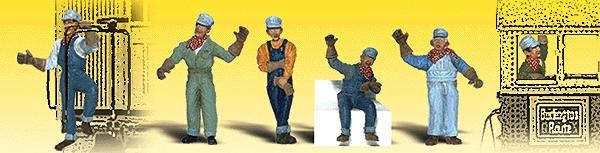 鉄道技術者 :ウッドランド 塗装済完成品 N(1/160) 2153