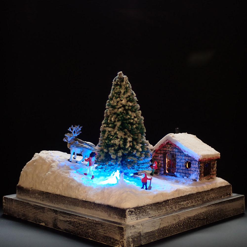 90ミリキューブミニチュア 「聖樹の空へ」 :太郎 塗装済完成品 ノンスケール 243