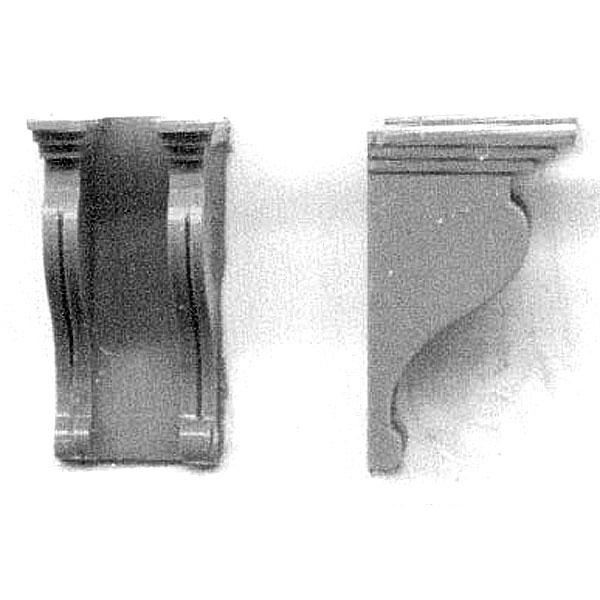 梁受け (持ち送り) :グラントライン 未塗装キット(部品) HO(1/87) 5074