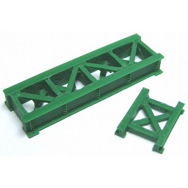 小鉄橋(緑) :YSK 未塗装キット N(1/150) 品番276
