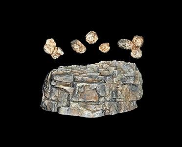 ロックモールド(岩の型) クラシック :ウッドランド 素材 ノンスケール C1236