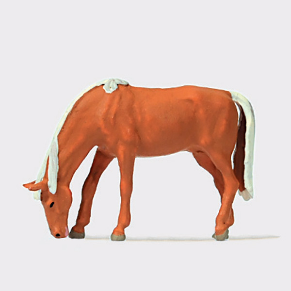 草を食む馬 :プライザー 塗装済完成品 HO(1/87) 29530