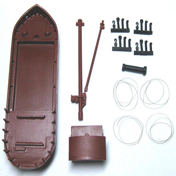 小型貨物船 :YSK 未塗装キット N(1/150) 品番291