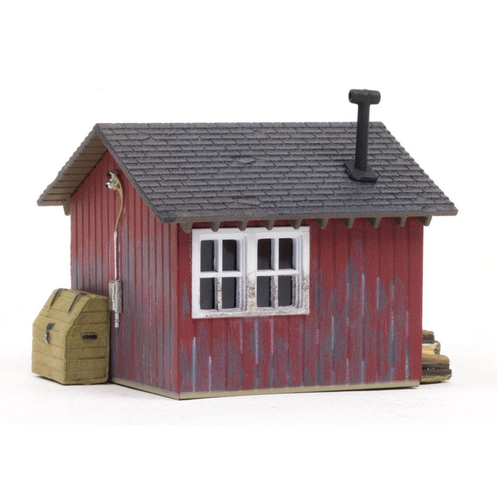 作業小屋 :ウッドランド 塗装済完成品 HO(1/87) BR5057