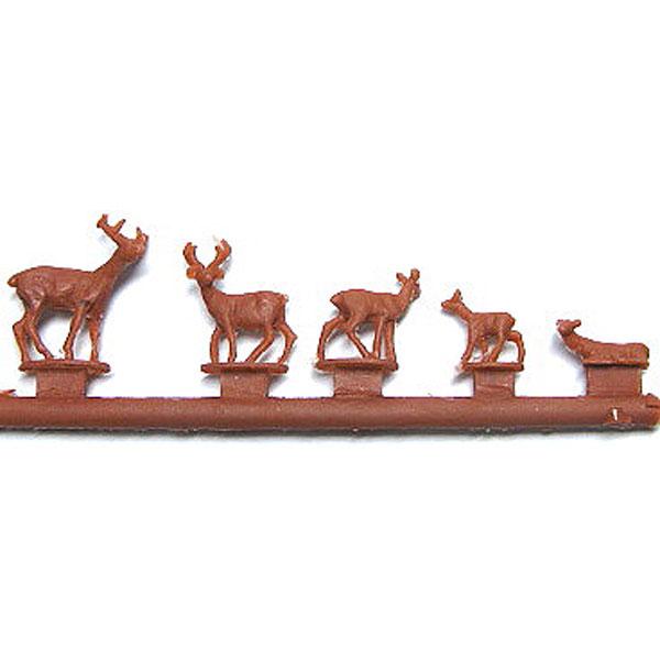 鹿セット :YSK 未塗装キット N(1/150) 品番298