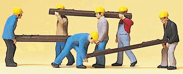 線路工事作業員 :プライザー 塗装済完成品 HO(1/87) 10034