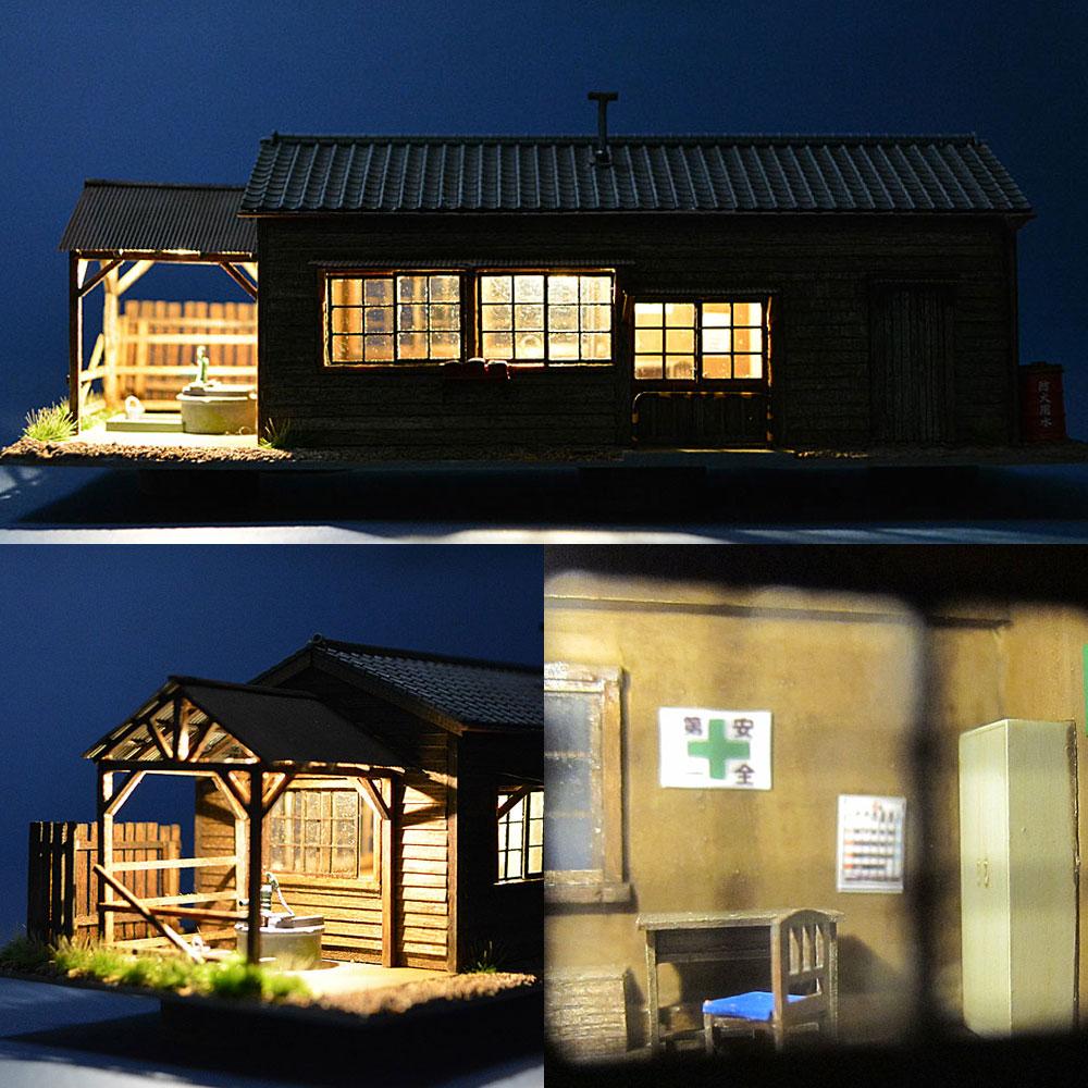 井戸のある詰所 3 :匠ジオラマ工芸舎 塗装済完成品 HO(1/80) 1034
