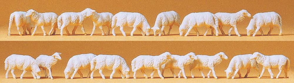 羊18頭 :プライザー 塗装済完成品 HO(1/87) 14161