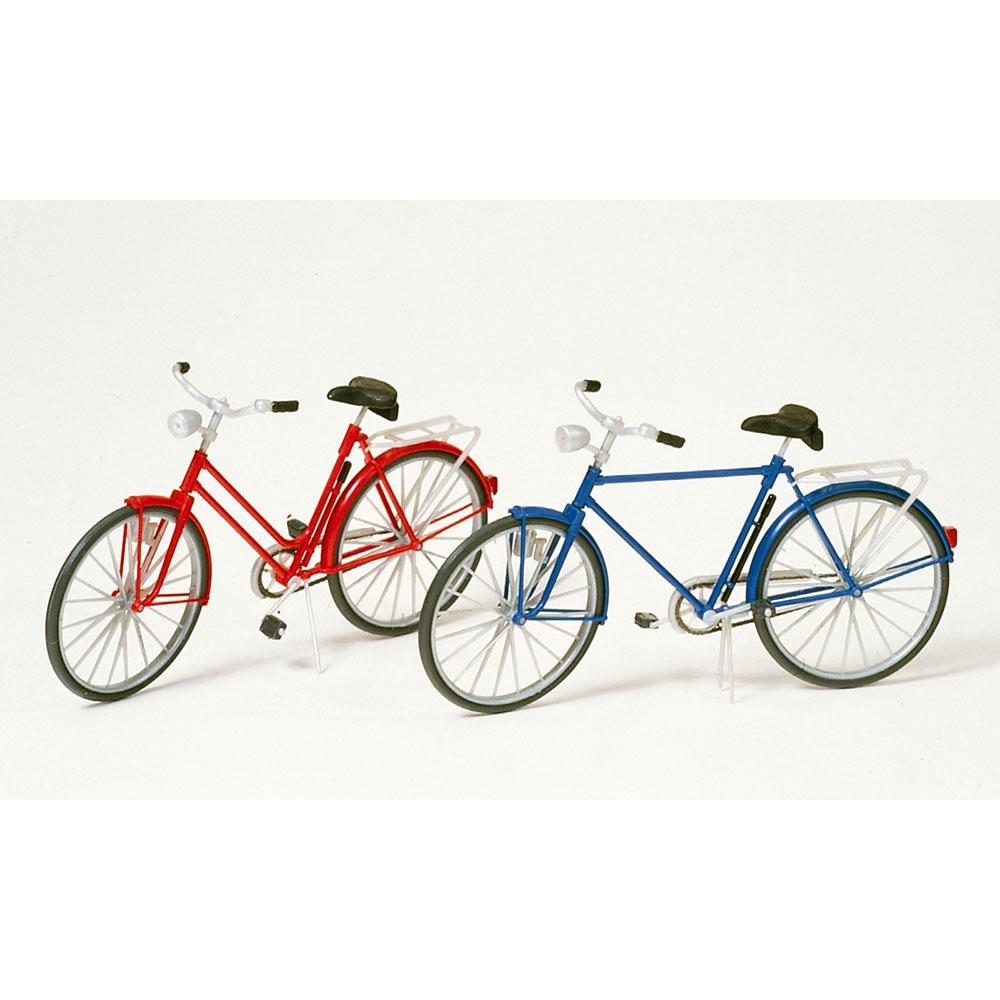 自転車(赤、青) :プライザー 未塗装キット 1/22.5スケール 45213