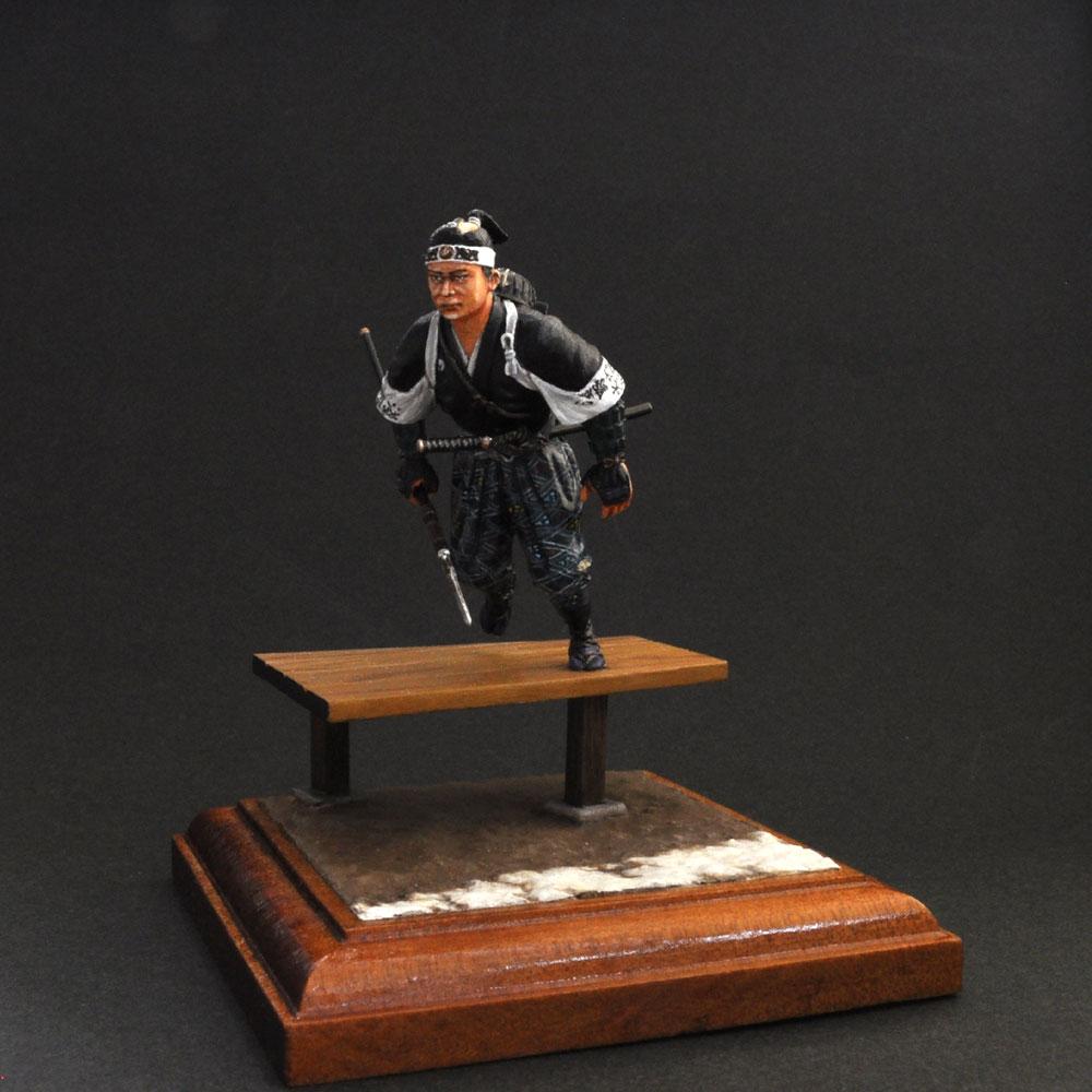 大石主税良金 :淺木紳士郎 塗装済完成品 1/35