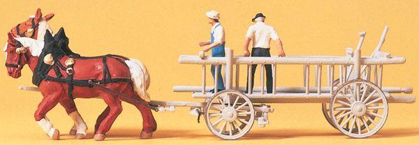 荷馬車 :プライザー 塗装済完成品 HO(1/87) 30436