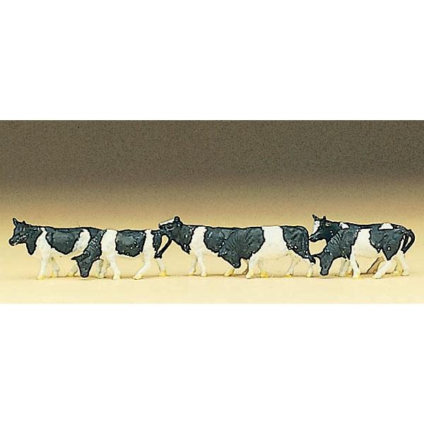 牛 6頭 :プライザー 塗装済完成品 Z(1/220) 88575