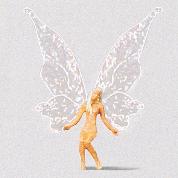 座っている妖精 :プライザー 塗装済完成品 HO(1/87) 29016
