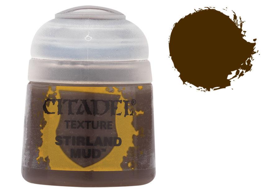 シタデル・テクスチャ− Stirland Mud(スターランド・マッド) :ゲームズワークショップ つや消し塗料 26-06