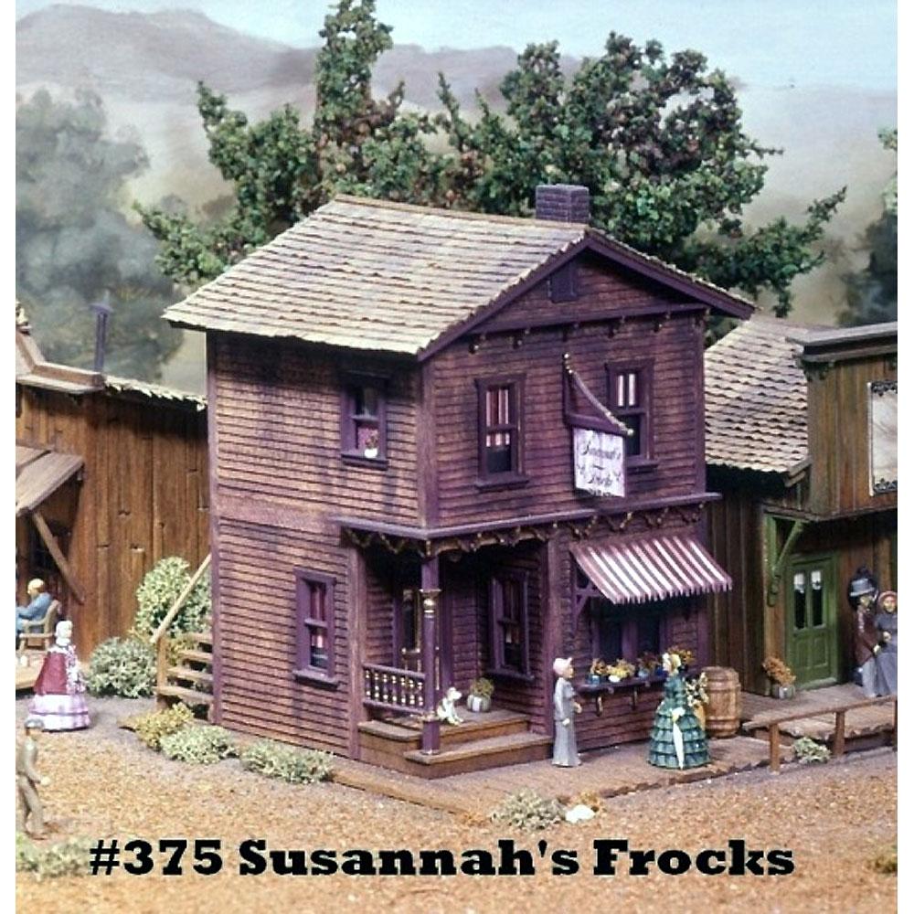 スザンナの洋品店 :キャンベル 未塗装キット HO(1/87) 375