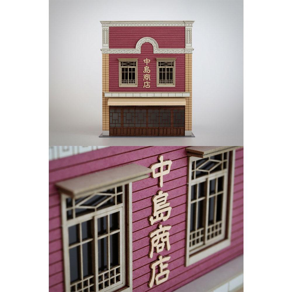 中島商店 カラーVer. :梅桜堂 HO(1/80) 塗装済みキット ST-001-80C